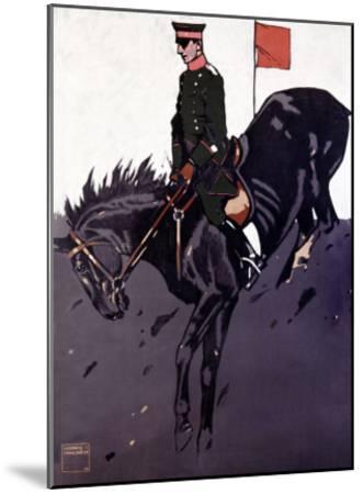 Bayerische Reiter-Ludwig Hohlwein-Mounted Giclee Print