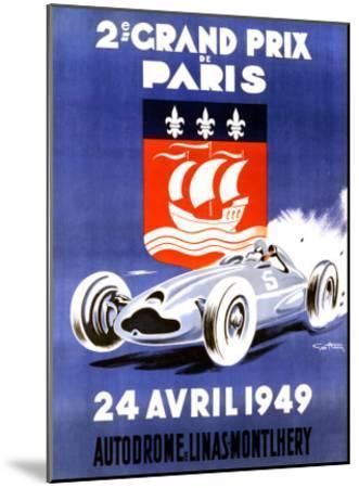 2nd Grand Prix de Paris-Geo Ham-Mounted Giclee Print