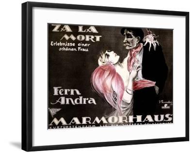 Za la Mort-Josef Fenneker-Framed Giclee Print