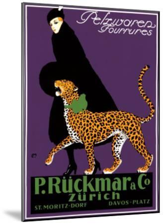 Ruckmar-Carl Moos-Mounted Giclee Print