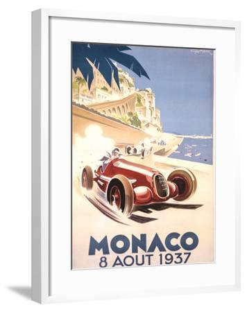 Monaco, 1937-Geo Ham-Framed Giclee Print