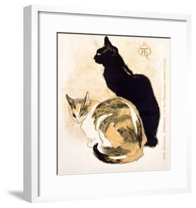 Cats-Th?ophile Alexandre Steinlen-Framed Giclee Print