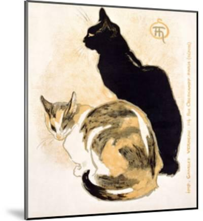 Cats-Th?ophile Alexandre Steinlen-Mounted Giclee Print