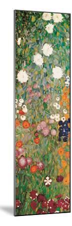 Flower Garden (detail)-Gustav Klimt-Mounted Art Print