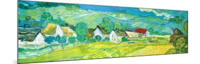 Sunny Meadow in Arles, c.1890 (detail)-Vincent van Gogh-Mounted Art Print