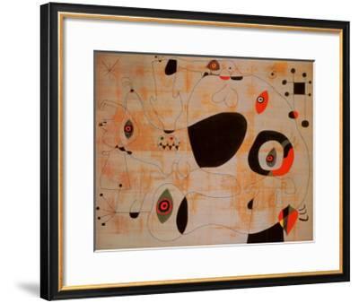 Le Port, c.1945-Joan Mir?-Framed Art Print