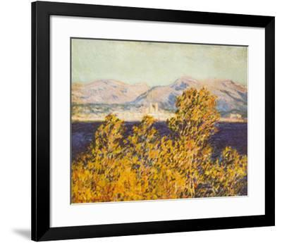 Antibes, View of the Cap, Mistral Wind, c.1888-Claude Monet-Framed Art Print