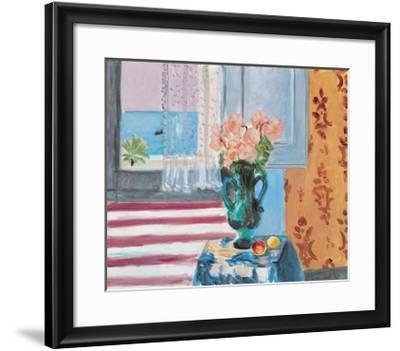 Vase Of Flowers-Henri Matisse-Framed Art Print