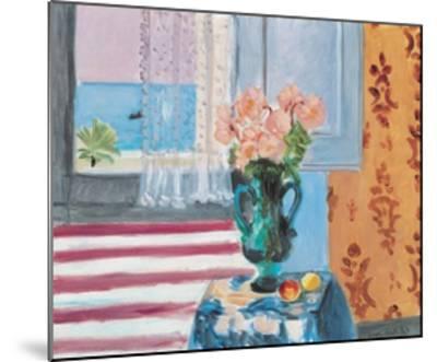 Vase Of Flowers-Henri Matisse-Mounted Art Print