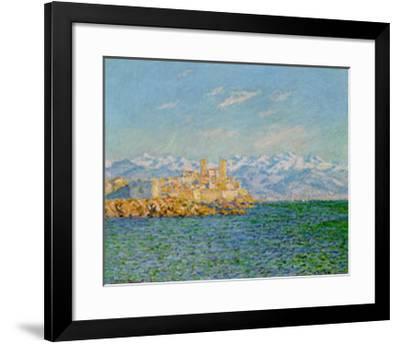 Old Fort At Antibes-Claude Monet-Framed Art Print
