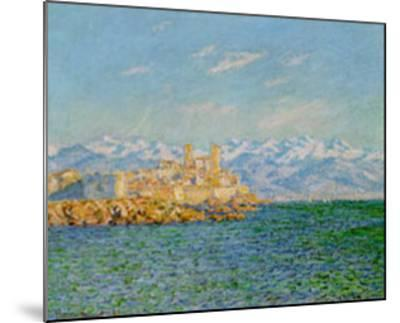 Old Fort At Antibes-Claude Monet-Mounted Art Print