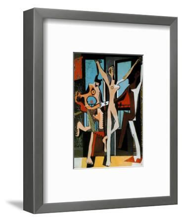 Three Dancers, c.1925-Pablo Picasso-Framed Art Print