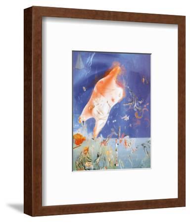 Senicitas-Salvador Dal?-Framed Art Print