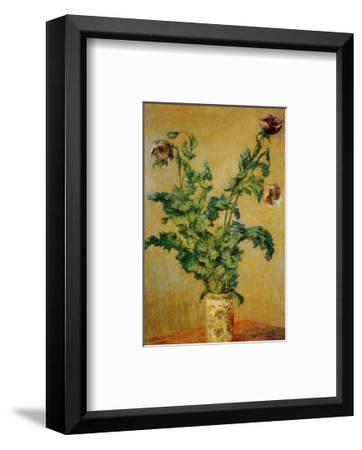 Purple Poppies-Claude Monet-Framed Art Print