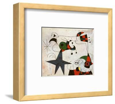 Rythme Passage du Serpent-Joan Mir?-Framed Art Print