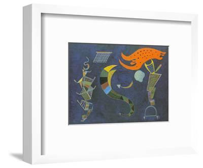 Mit dem Pfeil, c.1943-Wassily Kandinsky-Framed Art Print