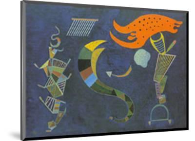 Mit dem Pfeil, c.1943-Wassily Kandinsky-Mounted Art Print