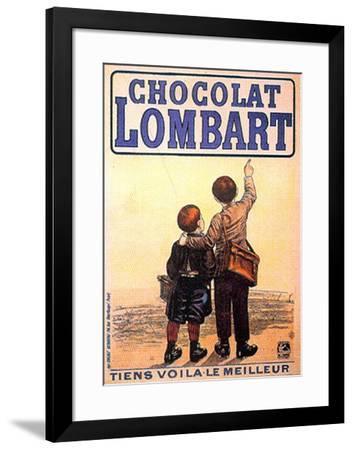 Choclat Lombart--Framed Art Print