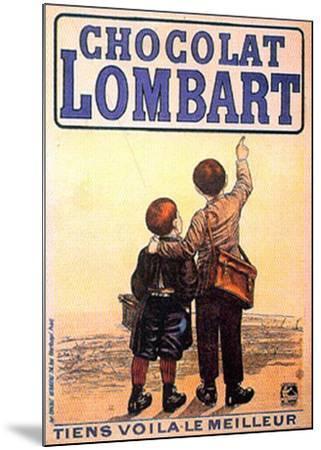 Choclat Lombart--Mounted Art Print