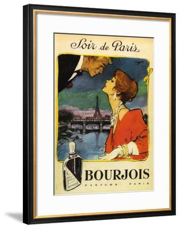 Soir De Paris--Framed Art Print