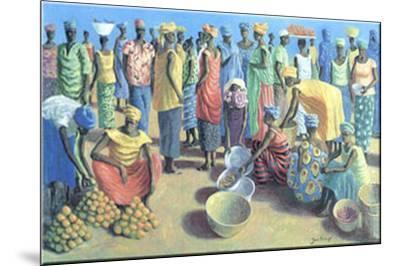 Fruit Merchants-Jan Kruip-Mounted Art Print