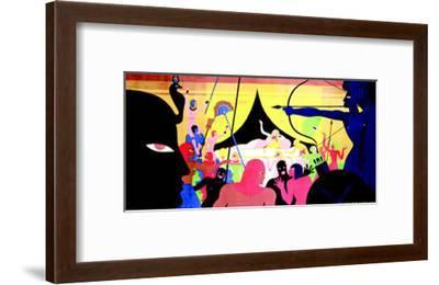 La Femme Nue--Framed Art Print