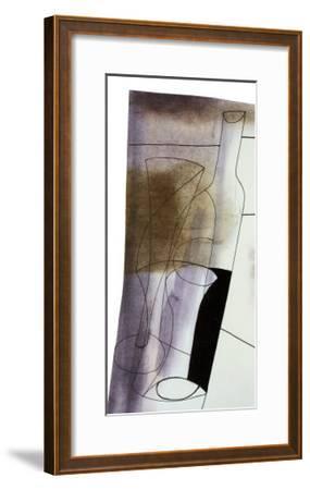 Sloping Vertical, 1981-Ben Nicholson-Framed Art Print