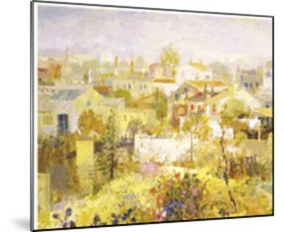 Acequia de los Linos-Goyo Dominguez-Mounted Art Print
