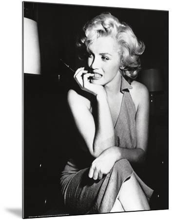 Marilyn Monroe, 1952--Mounted Art Print
