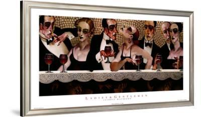 Ladies and Gentlemen-Juarez Machado-Framed Art Print