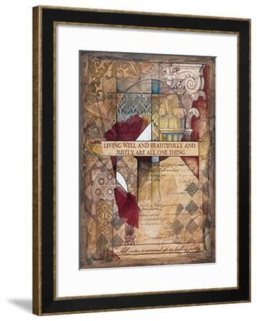 Living Well-Robert Hoglund-Framed Art Print