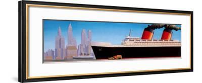 Full Steam-Robert LaDuke-Framed Art Print