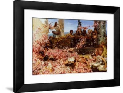 The Roses of Heliogabalus-Sir Lawrence Alma-Tadema-Framed Art Print