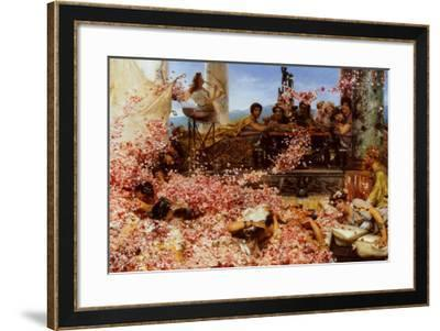 The Roses of Heliogabalus-Sir Lawrence Alma-Tadema-Framed Art Print