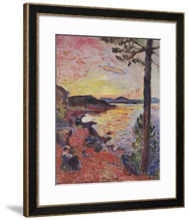 Le Gouter, 1904-Henri Matisse-Framed Art Print