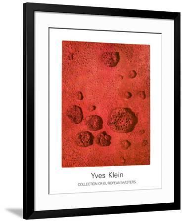 RE26-Yves Klein-Framed Art Print