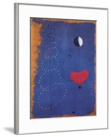 La Danseuse, 1925-Joan Mir?-Framed Art Print