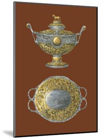 Silver Serving Pieces I--Mounted Art Print
