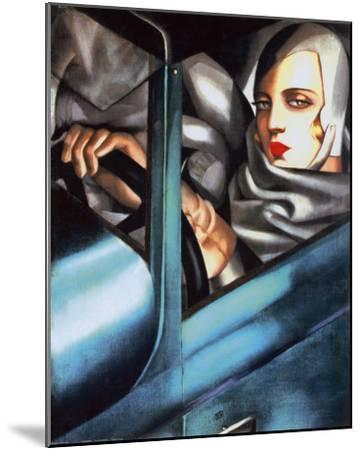 Autoportrait-Tamara de Lempicka-Mounted Art Print