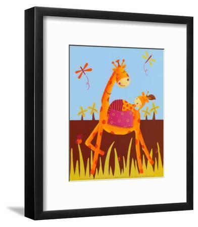 Sweet Nap-Ibrahima-Framed Art Print