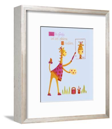 Painting Worshop-Ibrahima-Framed Art Print