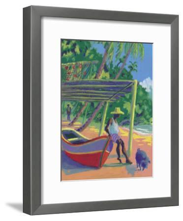 The Antilles- Zau-Framed Art Print