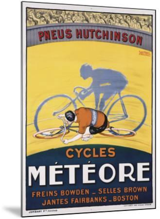 Cycles Meteore-Georges Faivre-Mounted Giclee Print