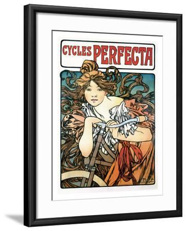 Cycles Perfecta Giclee Print by Alphonse Mucha   Art com
