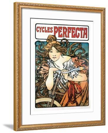 Cycles Perfecta Giclee Print by Alphonse Mucha | Art com