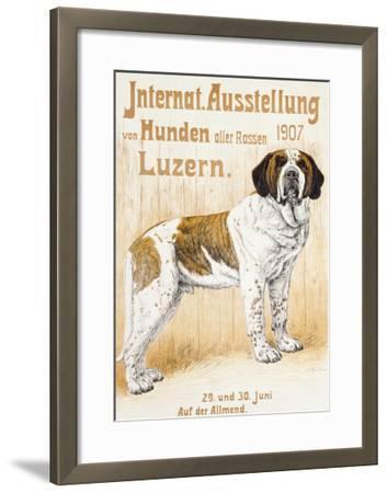 Austellung Von Hunden-H. C. Kaufmenn-Framed Giclee Print