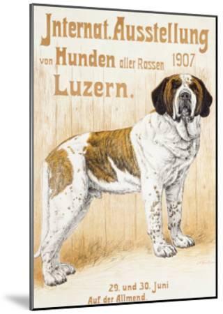 Austellung Von Hunden-H. C. Kaufmenn-Mounted Giclee Print