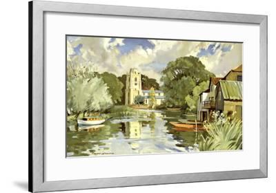 Huntingdonshire-Edward Wesson-Framed Giclee Print