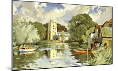 Huntingdonshire-Edward Wesson-Mounted Giclee Print