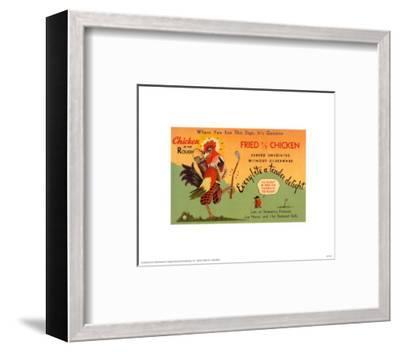 Fried Chicken--Framed Art Print